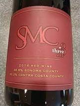 Three Wine Company Syrah Mourvèdre Carignan 2014