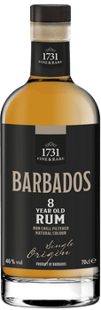 8 year old rum from Barbados