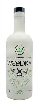 Naturally-flavoured weed (cannabis) vodka from Amsterdam.