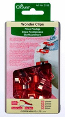 Clover Wonder Clips- 50 ct