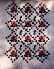 Roses 'n Ivy Quilt Pattern