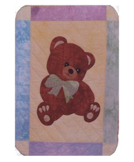 Country Teddy Bear Wallhanging