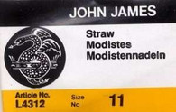 John James Straw Needles Sz 11