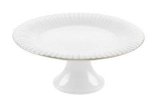 COSTA NOVA - Village Ribbed Footed Plate 28cm
