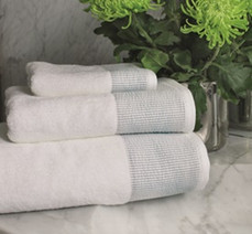 BOVI - Seersucker Towel Set