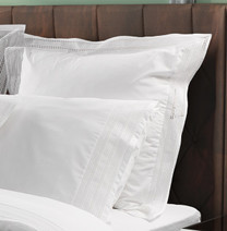 BOVI - Chloe Embroidered European Oxford Pillows