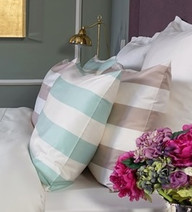 BOVI - Pretty Stripe Two Tone Pillowcase