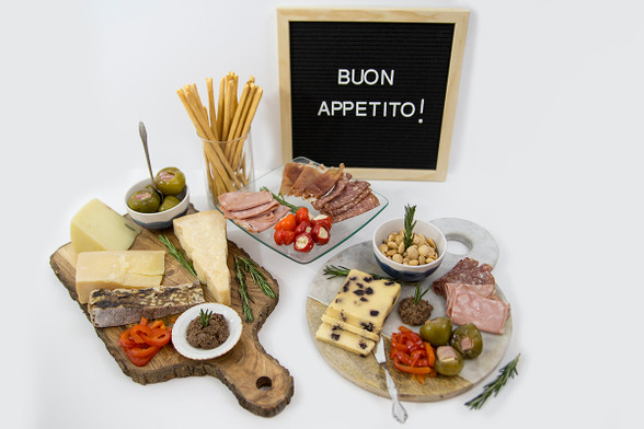Large Italian Antipasto Gift Box