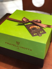 Fratelli Motta Panettone with Pistachio Cream Gift Box