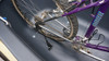 Bicycle Rear Tire Stabilizer attached to bicycle wheel