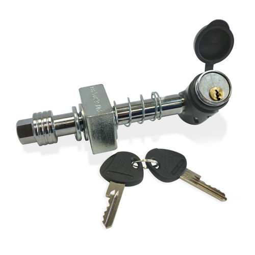Silent Hitch Pin With Keys