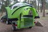 LittleGiant TreeHaus Utility Trailer and Camper Only With Door Open