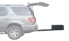 BossHog Slide-out Hitch Rack on Toyota Sequoia SUV