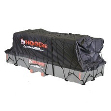 Cargo cover for hitch rack