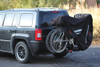 open BikeBag With Two Bike on Jeep Patriot