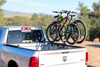 Two Bikes on Three-Quarter Nelson Truck Bed Carrier on Dodge Ram