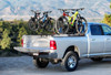 Three-Quarter Nelson on Dodge Ram with Additional SpinWing Accessory for Holding  more Bikes (Sold Separately)