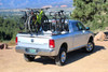 Three-Quarter Nelson on Dodge Ram holding Six Bikes with Two Additional SpinWing Accessories (Sold Separately)