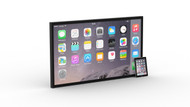 Padzilla 55 inch Frameless Giant iPad iPhone
