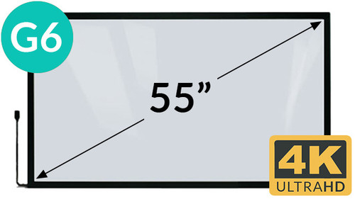 55in 4K Multi Touch Overlay
