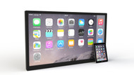 43 inch Frameless Padzilla Giant iPad iPhone