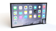 Padzilla 70 inch Frameless Giant iPad iPhone