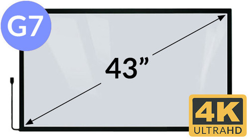 43in 4K Multi Touch Overlay