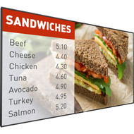 "Phillips 49"" Signage Solutions P-Line Display"