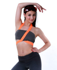 Electric Bandage Tube Top (Luminous Orange)