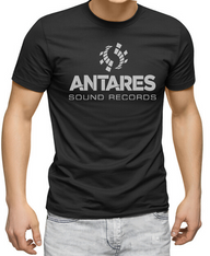 Men's Premium T-Shirt - Antares Sound Records reflective logo.