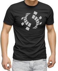 Men's Premium T-Shirt - Antares Sound Records reflective symbol.