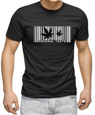 Men's Premium T-Shirt - Hemp (Original Taste) reflective logo.