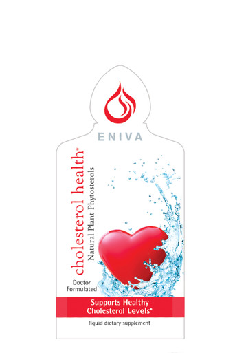 Eniva® Cholesterol Health Liquid Plant Phytosterols, 1 oz, single-serve packet, 20 quantity, natural solution supports healthy cholesterol levels,**block LDL cholesterol,  lower triglycerides, weight management, plant phytosterols, limit fat and calories, fat control,* Product ID # 11109