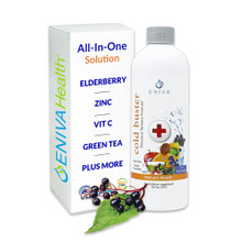 Eniva Natural Cold Buster (16 oz), Immune Booster, Echinacea, Orange, Chamomile, Lemon, Broccoli, Apple, Blueberry, Cranberry, Green Tea, Oregano, Vitamin C, Vitamin D, Calcium, Magnesium, Copper, Zinc, 16 oz., ID 29509.