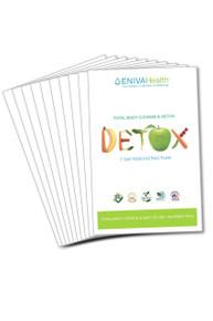 Detox booklets – 10 pack