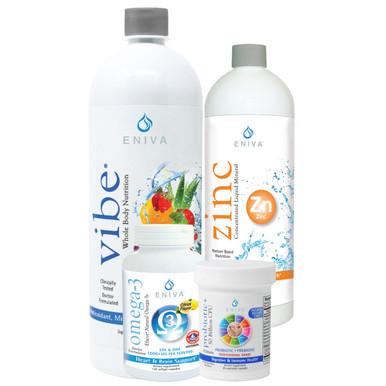 Immune System Health Pack  •Vibe  •Zinc  •Probiotic+  •Efacor (60 count)