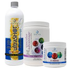 Pre-Workout Bundle with UltraShot, ATP-Pro D-Ribose, Vascular Advantage L-Arginine Complex