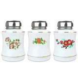 6 Oz Pattern Porcelain Liquid Pump Dispenser Bottle (RANDOM)
