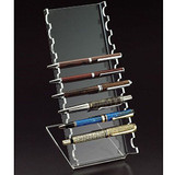 Acrylic 10 Slot Nail Art Brush/Pen Display Holder