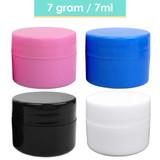 7G/7ML (0.25 oz) Plastic Cosmetic Sample Jars (Opaque)
