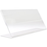 Clear Acrylic Countertop License Holder Display/Stand