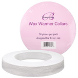 Disposable Wax Warmer Protective Collar Rings for 14 Oz. Wax Can