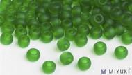 Miyuki 6/0 Transparent Frost Glass Beads