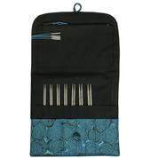 "HiyaHiya 5"" Small Interchangeable Stainless Steel Knitting Needle Set"