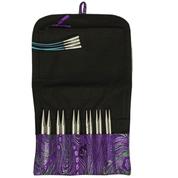 "HiyaHiya Large 5"" stainless steel interchangeable knitting needle set"