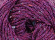 Kraemer Yarns Tatamy Tweed Worsted Yarn - #1204 Loganberry