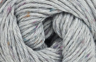 Kraemer Yarns Tatamy Tweed Worsted Yarn - #1222 Silver
