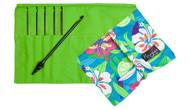 "Nirvana Ebony Crochet Hook Gift Set with 7"" Needle and Hook Case"