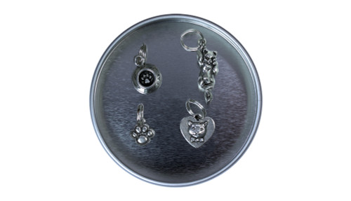Cat Pewter Stitch Marker Set