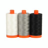 Aurifil Color Builders - Carrara Black & White